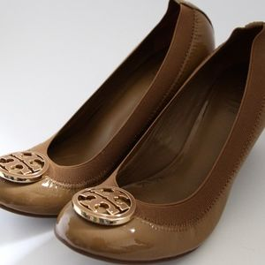 Tory Burch Caroline Wedge Heels
